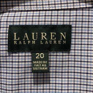 Lauren Ralph Lauren Shirts & Tops - EUC Ralph Lauren Dress Shirt Size 20